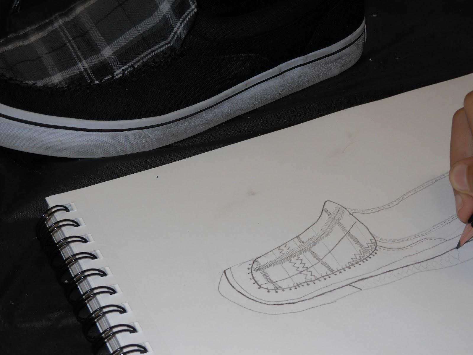 Contour Line Drawing Of A Shoe : Art to go shoe contour line drawings