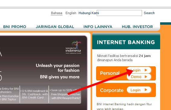 Transfer Uang Online Antar Bank menggunakan iBanking BNI ...