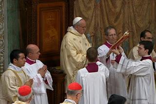 Pape François - Messe - Diacre - Rome - PUSC - DPTN