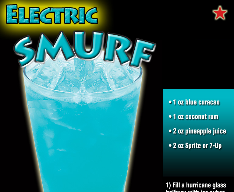 How To Make A Blue Smurf Drink