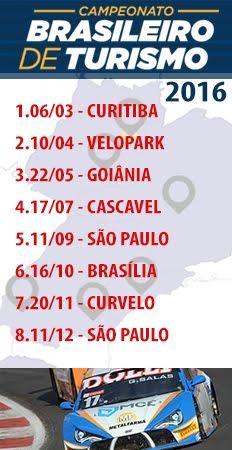 TURISMO - Calendário