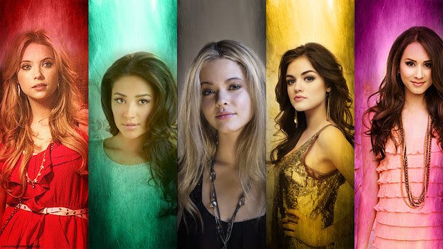 Pretty Little Liars: Hanna, Emily, Alison, Aria, Spencer