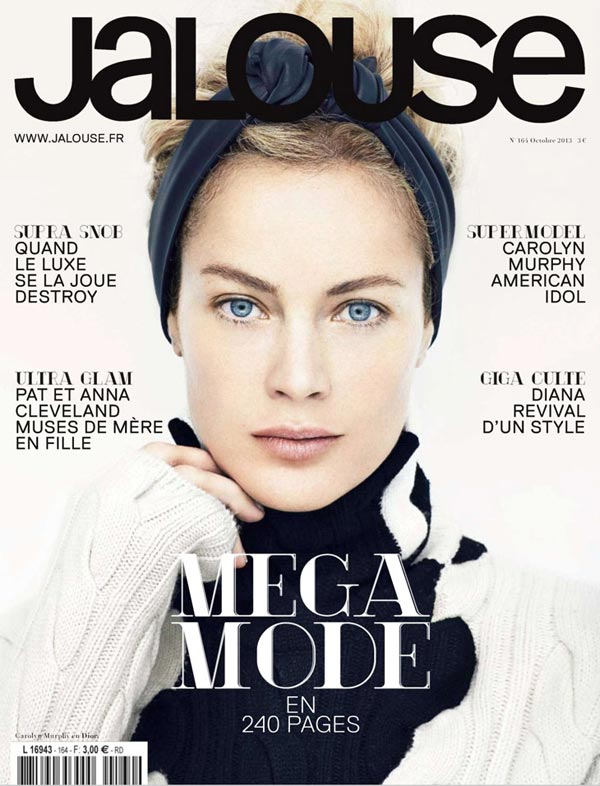 carolyn murphy jalouse cover october 2013