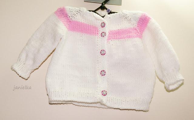 Sweterek gotowy
