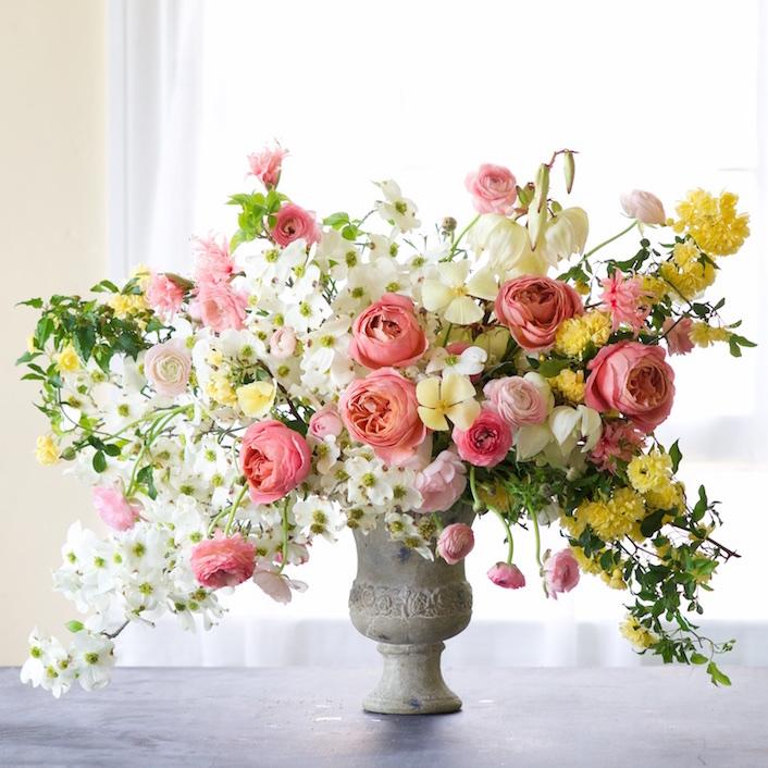 Copa de flores Tulipina