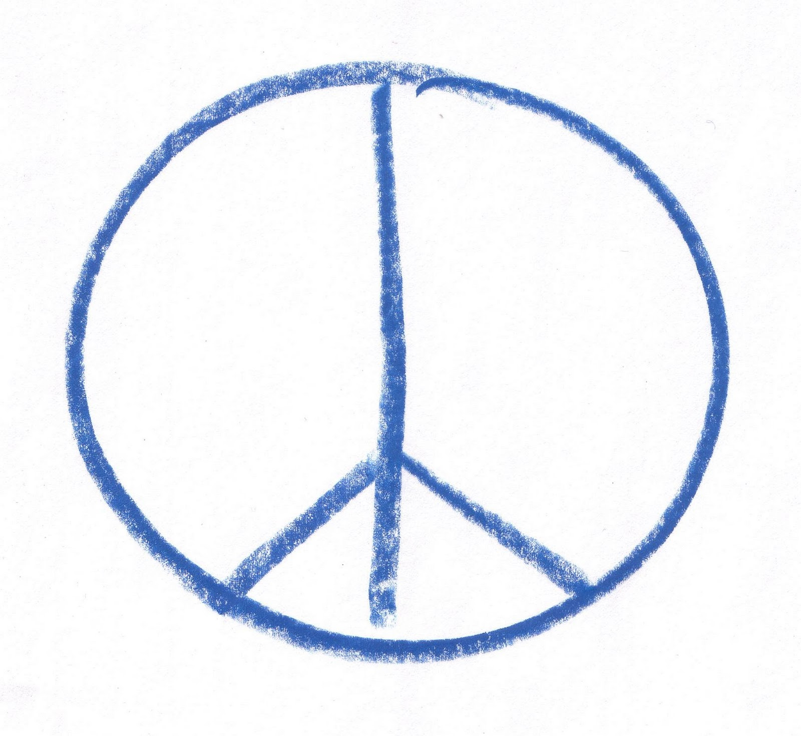 peace tegn betydning