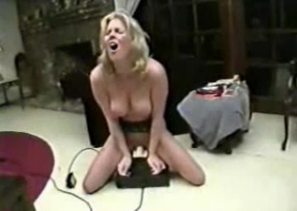 Mature woman on sybian