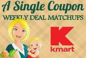 Here are the Kmart deals for this week. Remember that Kmart no longer