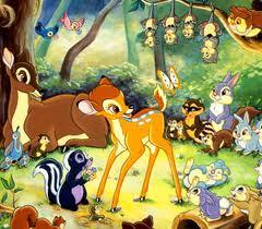 bambi wallpaper mural
