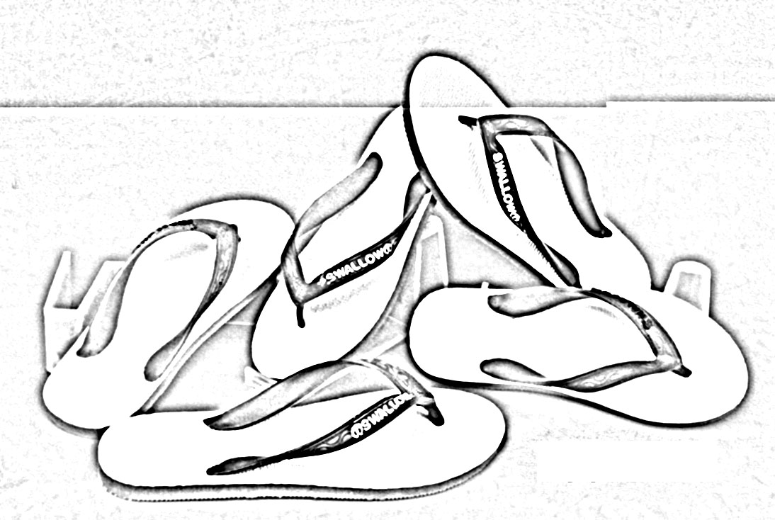 danger of wearing flip flops my life
