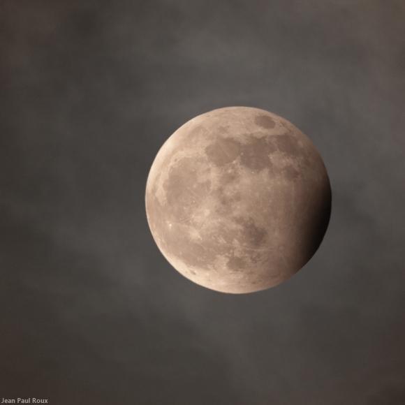 Lunar Pioneer A Very Partial Eclipse 25 April 20 08 36 Ut