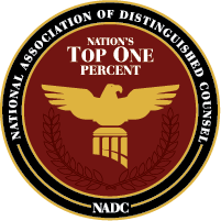 NAMED NATION'S TOP 1% FOR 2015