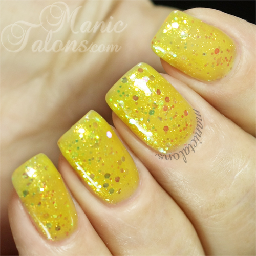 BMC Gel Polish Blistering Sun Swatch