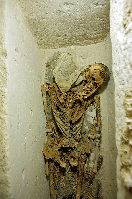 Skeleton of 5th Dynasty official found in Abusir