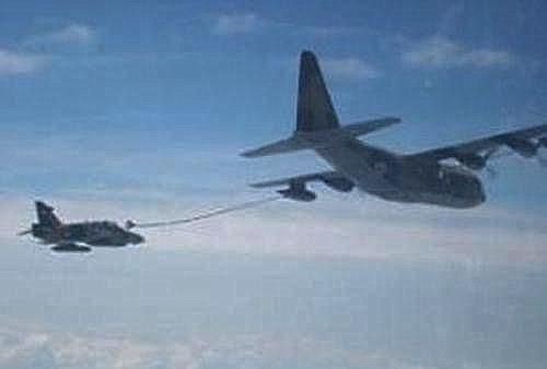 Air refueling pesawat TNI