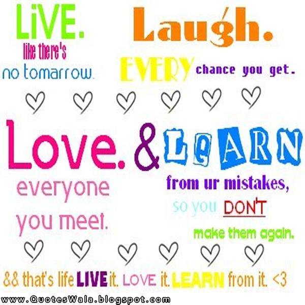 When you love and laugh abundantly you live a beautiful life #quote