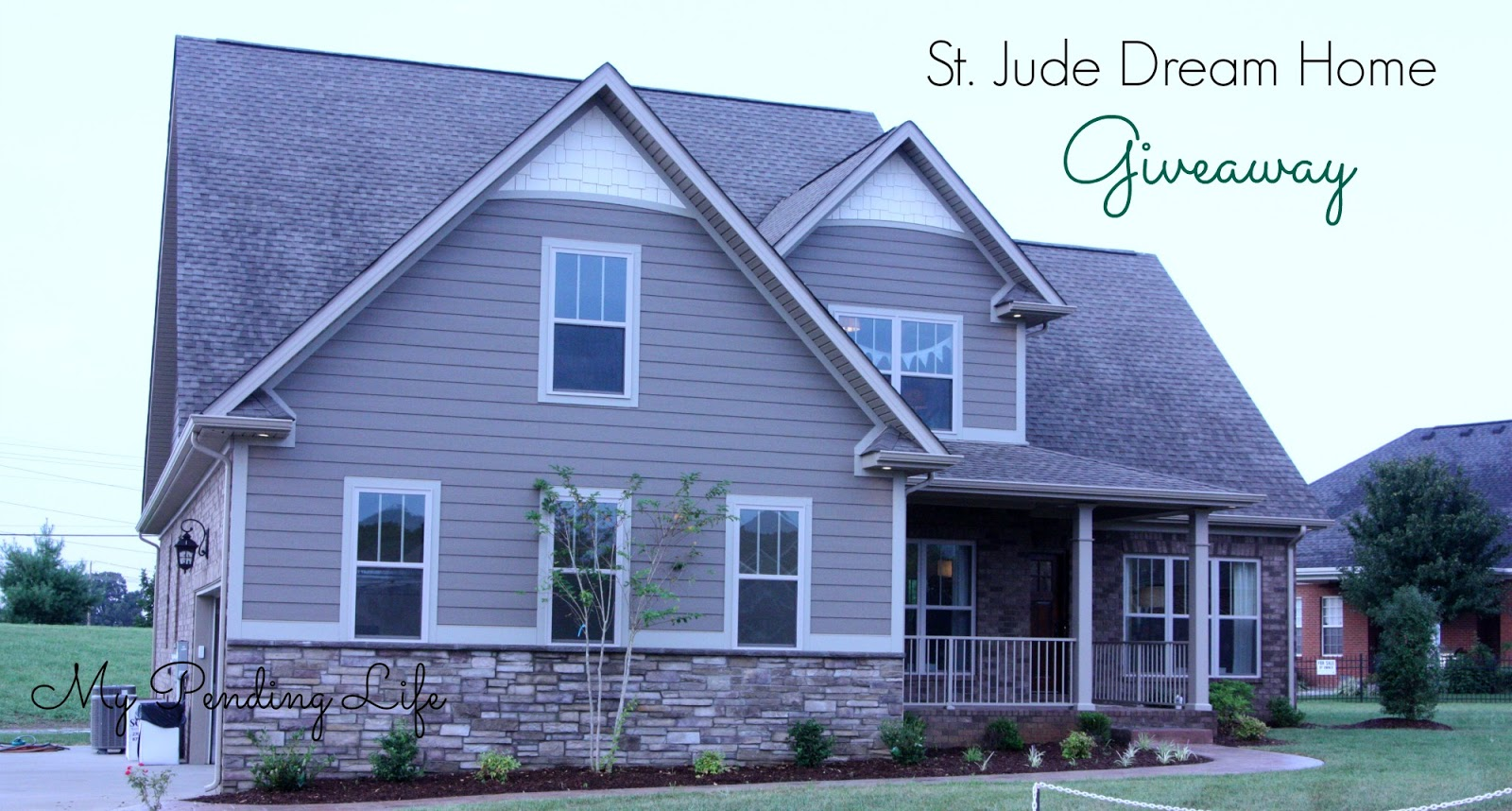 My Pending Life St Jude Dream Home