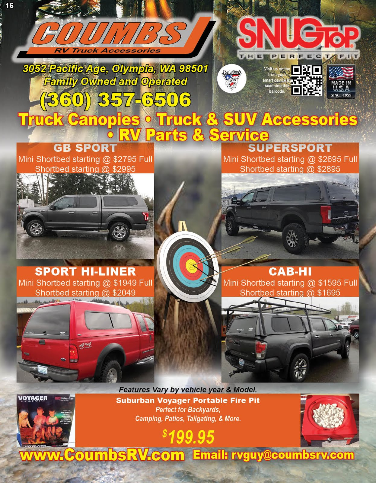 Coumbs RV Truck Accessories