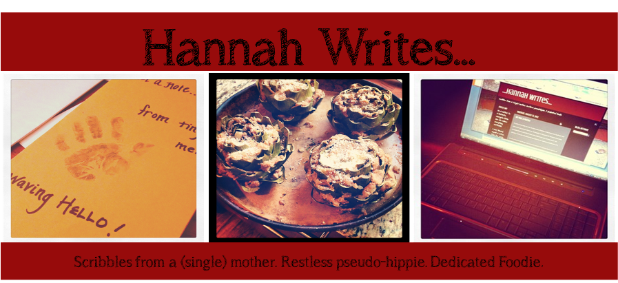 ...Hannah Writes...