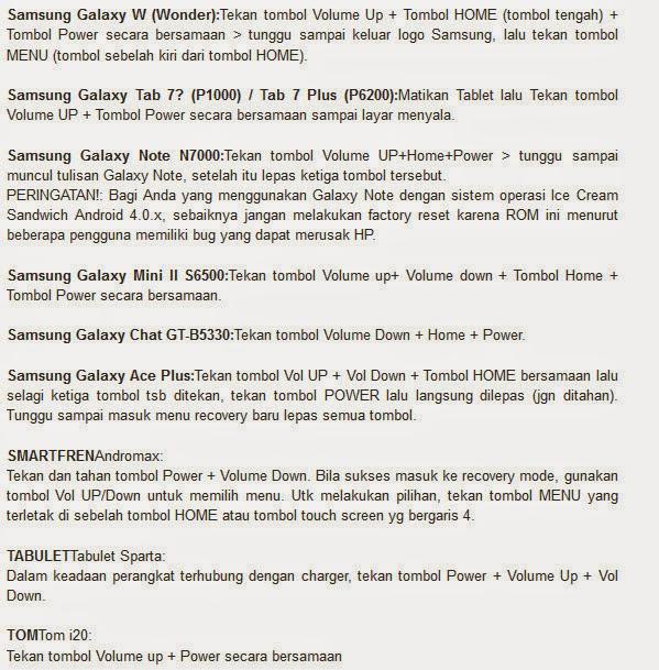Cara Instal Atau Reset Ulang Hape/Handphone/HP Smartphone Android ...