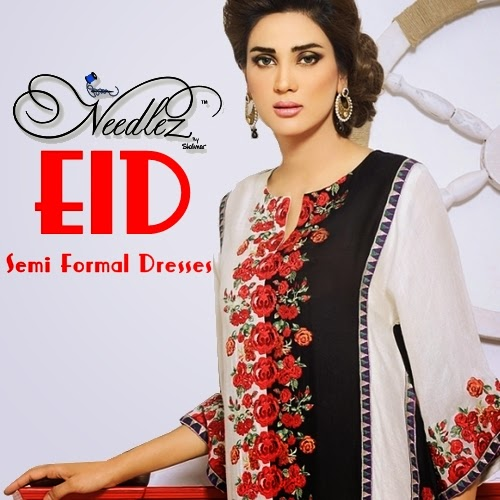 Needlez eid Collection-2014 Formal Dresses
