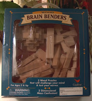Brain Benders Wooden Puzzles2