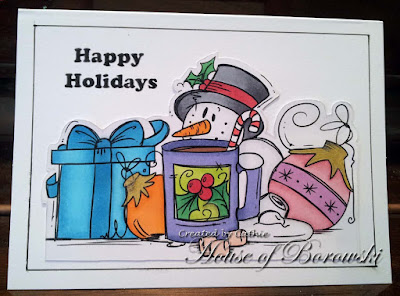 Outlawz Sunday CAS, Bugaboo Digi Stamps Winter Goodies