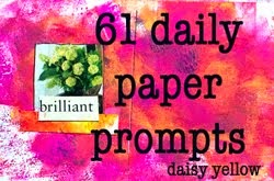 61 Daily Paper Prompts-Aug 2014