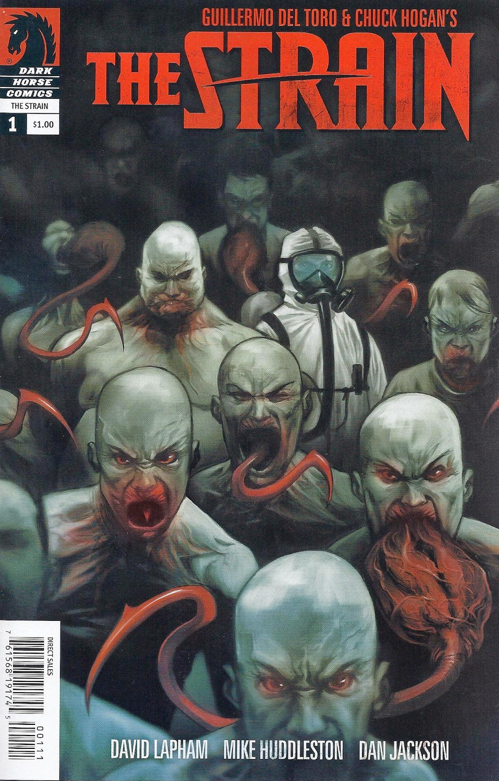The Strain Comics Series Tropa Friki