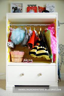 Chloe's DIY Costume Closet