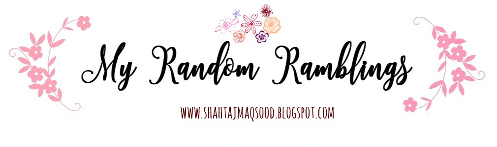 My Random Ramblings