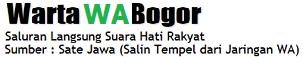 Warta WA Bogor - Bogor WhatsApp News
