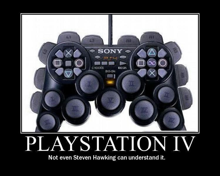 PlayStation 4 Funny