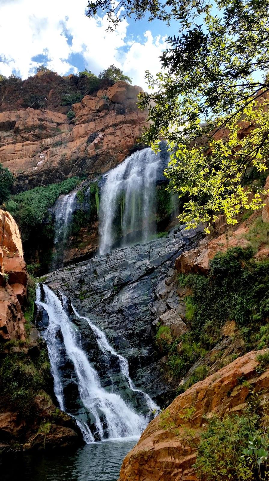 Walter Sisulu Botanical Gardens Waterfall