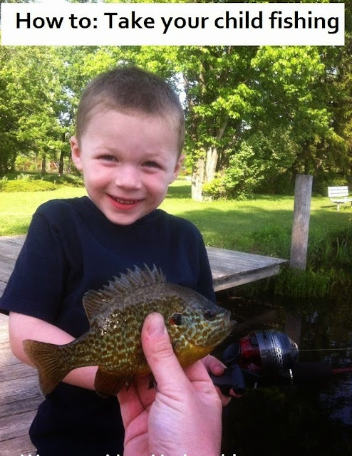 How To Take Your Child Fishing The Western New Yorker