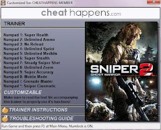 Скачать Трейнер Для Sniper Ghost Warrior 2 - фото 7