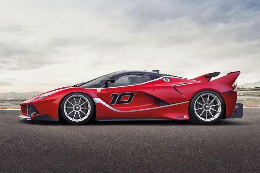 Ferrari FXX K (2015) Side