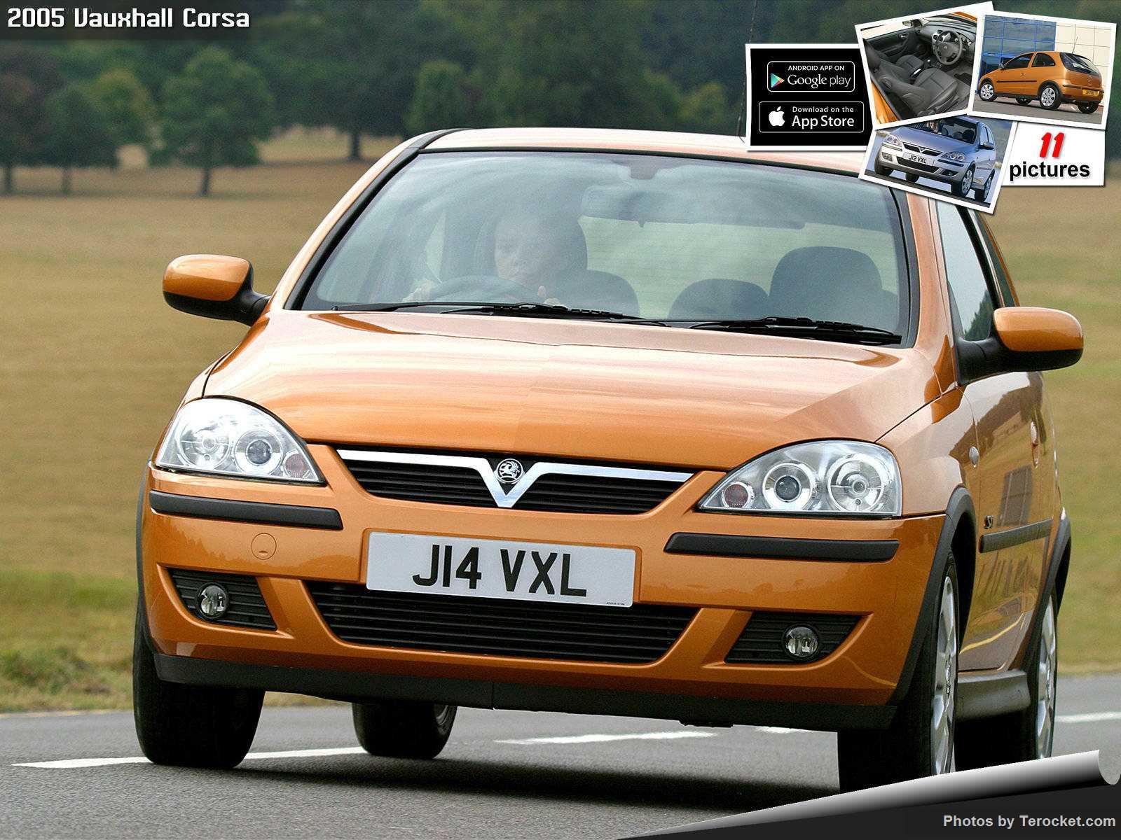 Hình ảnh xe ô tô Vauxhall Corsa 2005 & nội ngoại thất