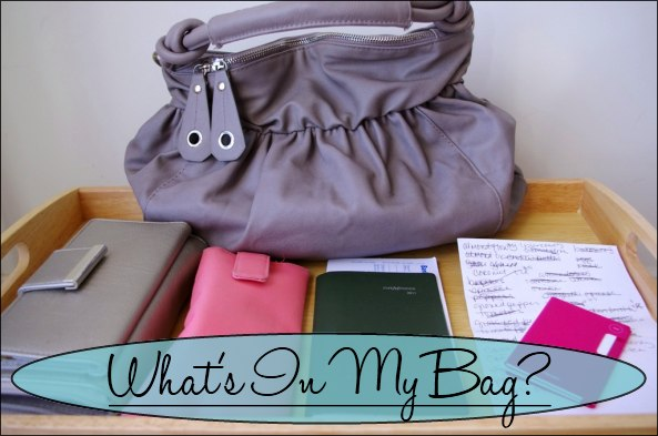 What's In My Bag? — A Modern Mrs.