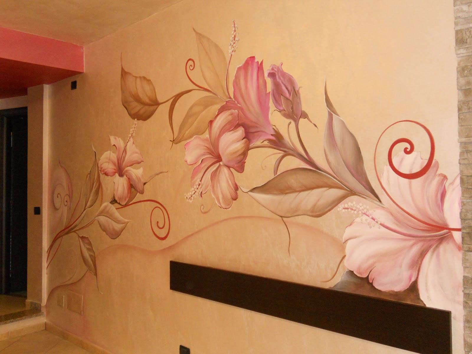 Decorazioni pittoriche fior fiore di decoro da lorenzo - Decorazioni pittoriche ...