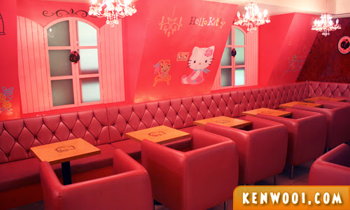 hello kitty cafe pink