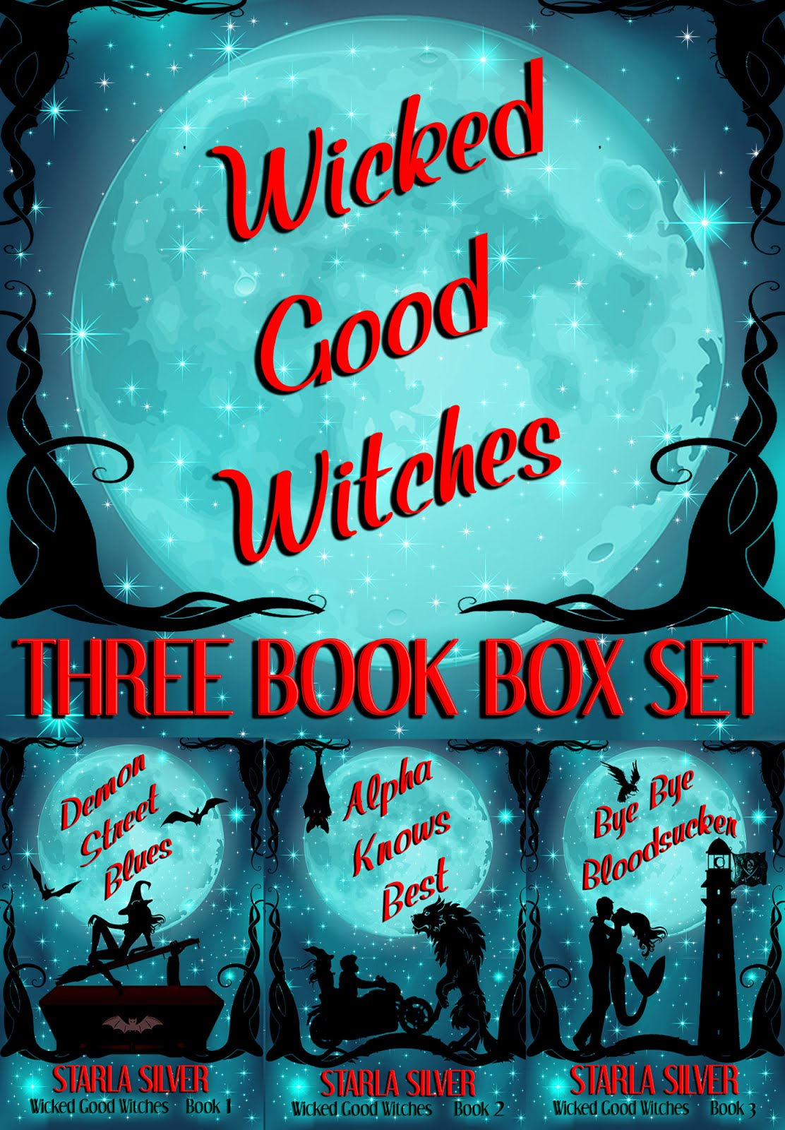 Get hooked on this paranormal series! 3 books, 1 low price!