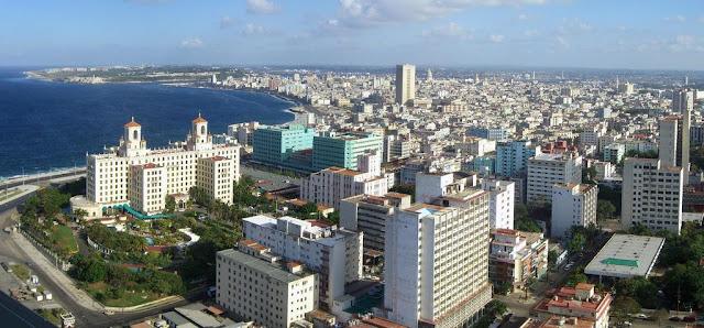 Panorámica de La Habana en Cuba
