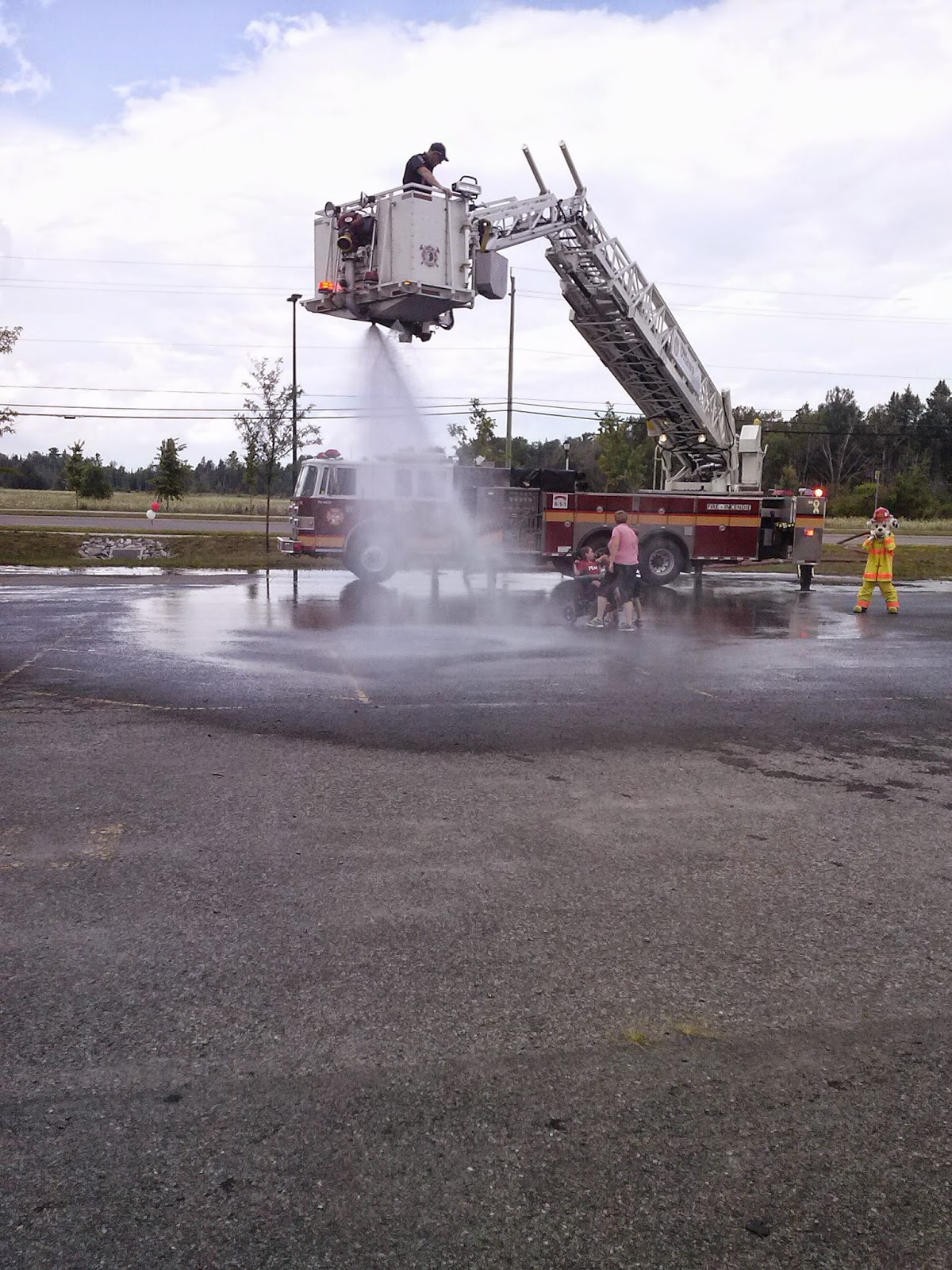 Fire Truck Cooling Off