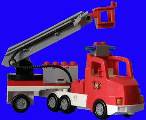 Nino, el camión de bomberos