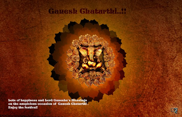 Lots of happiness and Lord Ganesha`s Blessings on the auspicious occasion of Ganesh Chaturthi. Enjoy the festival!