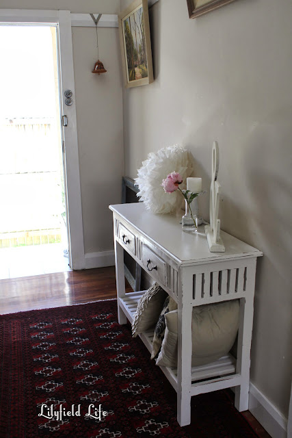 Lilyfield Life white painted hall table Sydney