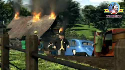 The Fat Controller was angry fire fighting truck Flynn where have you been this was an emergency