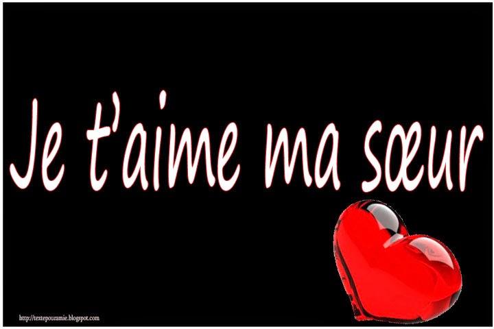 Poeme Pour Ma Soeur Cherie