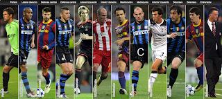 Equipo Ideal de Liga de Campeones 2011